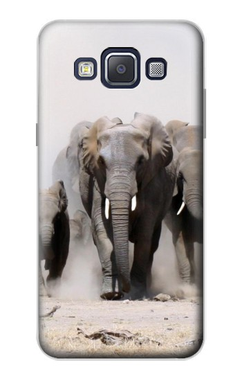 Printed African Elephant Samsung Galaxy A5, A5 Duos Case