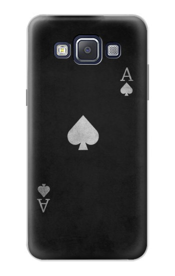 Printed Black Ace of Spade Samsung Galaxy A5, A5 Duos Case