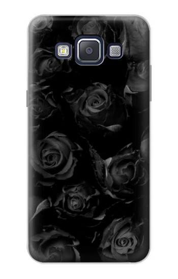 Printed Black Roses Samsung Galaxy A5, A5 Duos Case
