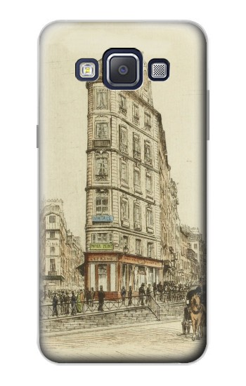Printed Boulevards of Paris Samsung Galaxy A5, A5 Duos Case