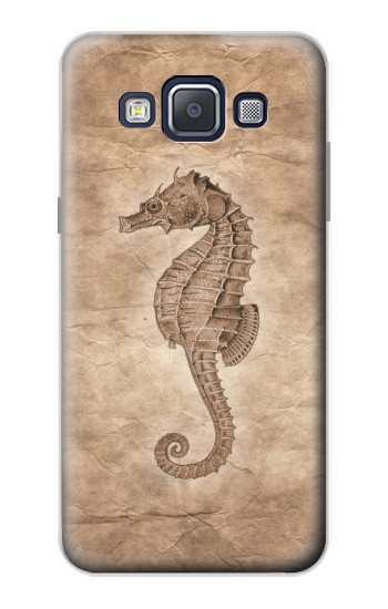 Printed Seahorse Old Paper Samsung Galaxy A5, A5 Duos Case