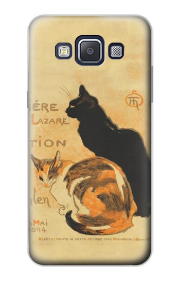 Printed Vintage Cat Poster Samsung Galaxy A5, A5 Duos Case