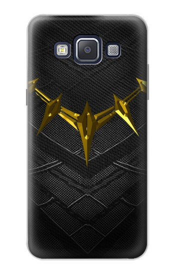 Printed Black Panther Inspired Costume Gold Necklace Samsung Galaxy A5, A5 Duos Case