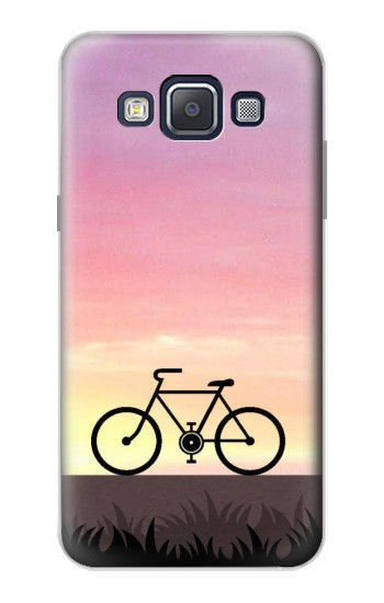 Printed Bicycle Sunset Samsung Galaxy A5, A5 Duos Case