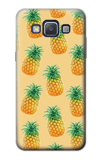 Printed Pineapple Pattern Samsung Galaxy A5, A5 Duos Case