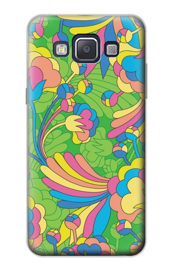Printed Flower Line Art Pattern Samsung Galaxy A5, A5 Duos Case
