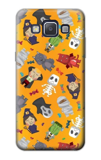 Printed Cute Halloween Cartoon Pattern Samsung Galaxy A5, A5 Duos Case