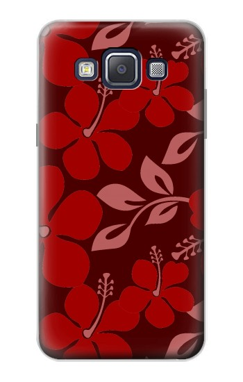 Printed Hawaii Dark Red Pattern Samsung Galaxy A5, A5 Duos Case