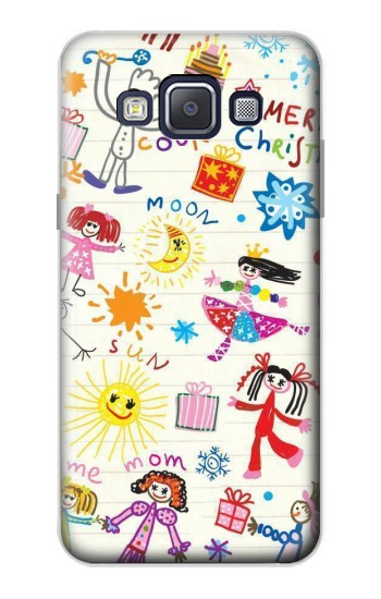 Printed Kids Drawing Samsung Galaxy A5, A5 Duos Case