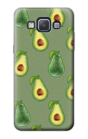 Printed Avocado Fruit Pattern Samsung Galaxy A5, A5 Duos Case