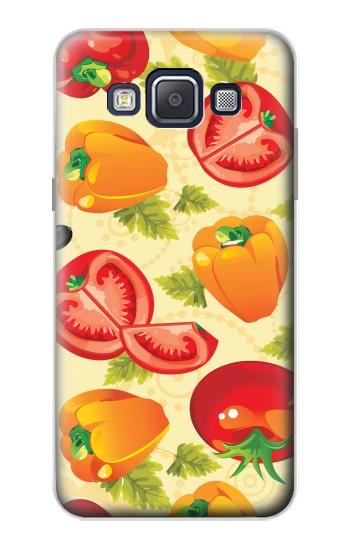 Printed Seamless Food Vegetable Samsung Galaxy A5, A5 Duos Case