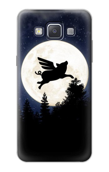 Printed Flying Pig Full Moon Night Samsung Galaxy A5, A5 Duos Case