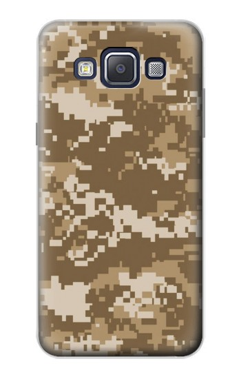 Printed Army Camo Tan Samsung Galaxy A5, A5 Duos Case