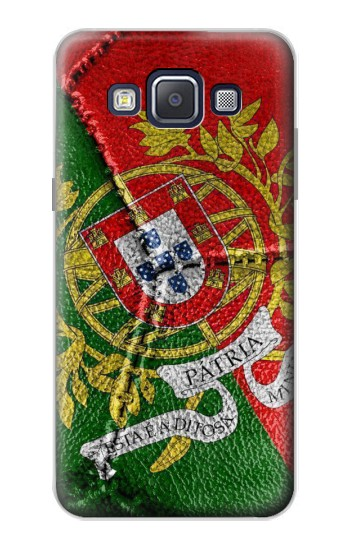 Printed Portugal Flag Vintage Football 2018 Samsung Galaxy A5, A5 Duos Case