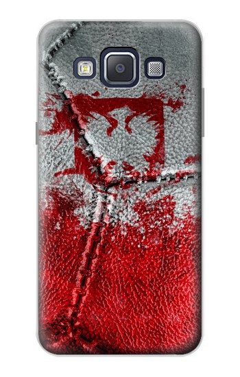 Printed Poland Flag Vintage Football 2018 Samsung Galaxy A5, A5 Duos Case