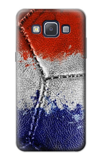 Printed France Flag Vintage Football 2018 Samsung Galaxy A5, A5 Duos Case
