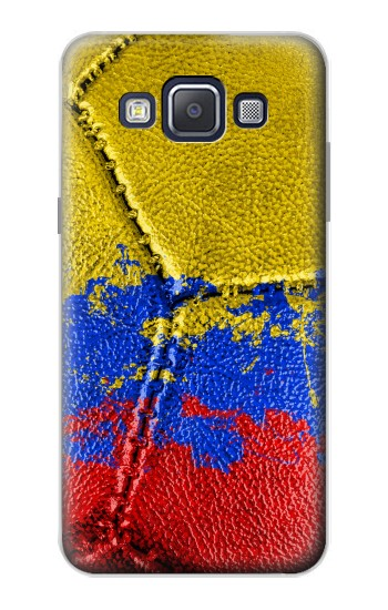 Printed Colombia Flag Vintage Football 2018 Samsung Galaxy A5, A5 Duos Case