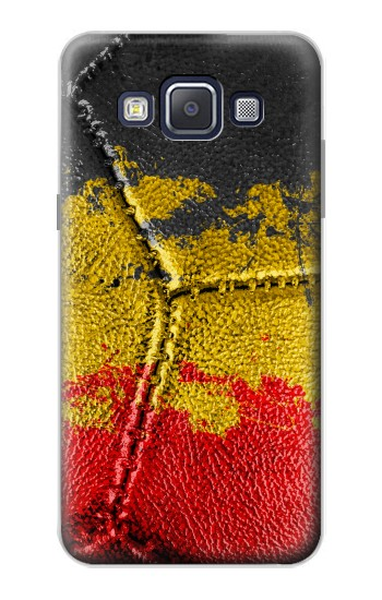 Printed Belgium Flag Vintage Football 2018 Samsung Galaxy A5, A5 Duos Case