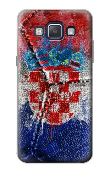Printed Croatia Flag Vintage Football 2018 Samsung Galaxy A5, A5 Duos Case