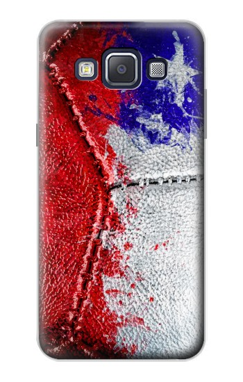 Printed Chile Flag Vintage Football 2018 Samsung Galaxy A5, A5 Duos Case