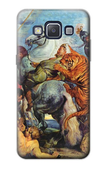 Printed Peter Paul Rubens Tiger und Lowenjagd Samsung Galaxy A5, A5 Duos Case