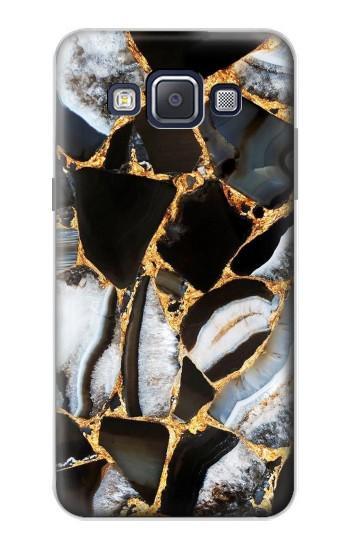 Printed Gold Marble Graphic Print Samsung Galaxy A5, A5 Duos Case