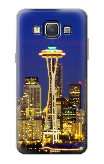 Printed Space Needle Seattle Skyline Samsung Galaxy A5, A5 Duos Case