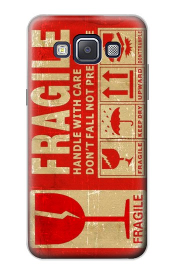 Printed Vintage Fragile Label Art Samsung Galaxy A5, A5 Duos Case