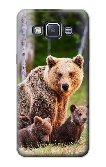 Printed Bear Family Samsung Galaxy A5, A5 Duos Case