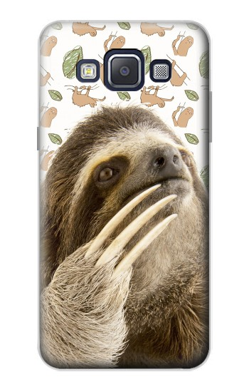 Printed Sloth Pattern Samsung Galaxy A5, A5 Duos Case