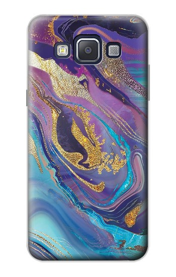 Printed Colorful Abstract Marble Stone Samsung Galaxy A5, A5 Duos Case