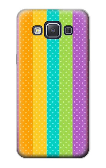 Printed Colorful Rainbow Vertical Samsung Galaxy A5, A5 Duos Case