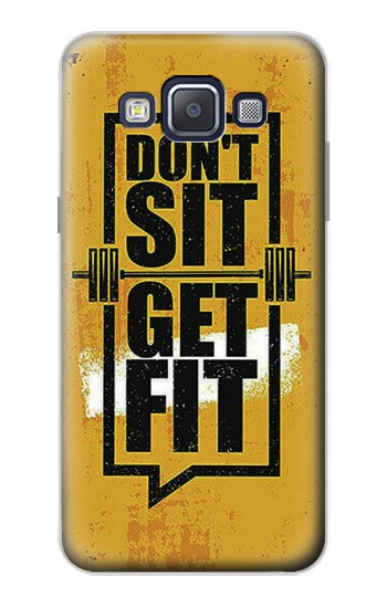 Printed Dont Sit Get Fit Samsung Galaxy A5, A5 Duos Case