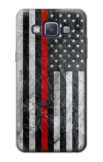 Printed Firefighter Thin Red Line American Flag Samsung Galaxy A5, A5 Duos Case
