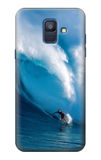 Printed Hawaii Surf Samsung Galaxy A6 (2018) Case