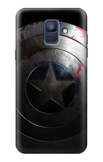 Printed Captain Shield Samsung Galaxy A6 (2018) Case