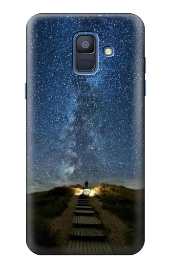Printed Stairway to Heaven Iceland Samsung Galaxy A6 (2018) Case