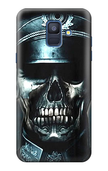 Printed Skull Soldier Zombie Samsung Galaxy A6 (2018) Case