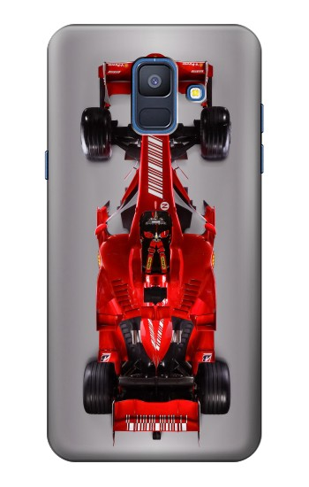 Printed Formula One Racing Car Samsung Galaxy A6 (2018) Case