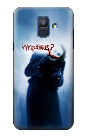 Printed Batman Joker Why So Serious Samsung Galaxy A6 (2018) Case