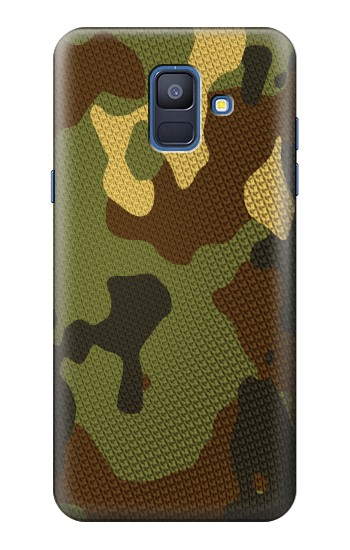Printed Camo Camouflage Graphic Printed Samsung Galaxy A6 (2018) Case