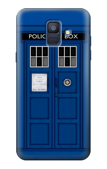 Printed Doctor Who Tardis Samsung Galaxy A6 (2018) Case