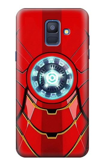 Printed Ironman Armor Arc Reactor Graphic Printed Samsung Galaxy A6 (2018) Case