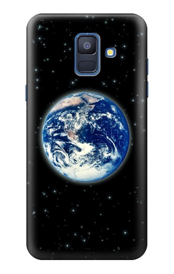 Printed Earth Planet Space Star nebula Samsung Galaxy A6 (2018) Case