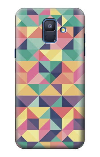 Printed Variation Pattern Samsung Galaxy A6 (2018) Case