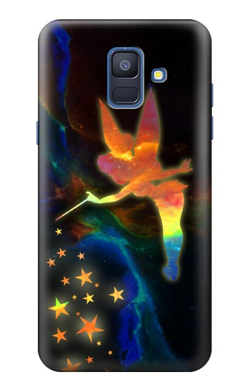 Printed Tinkerbell Magic Sparkle Samsung Galaxy A6 (2018) Case