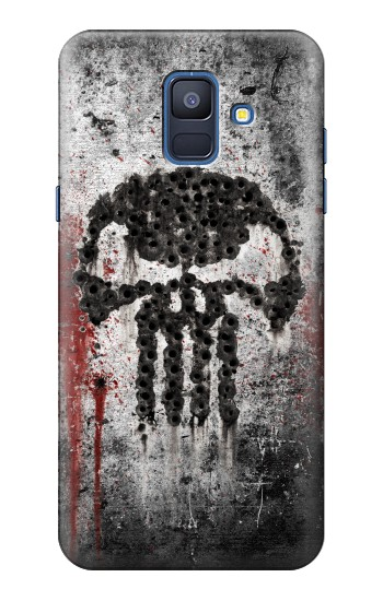 Printed Punisher Samsung Galaxy A6 (2018) Case