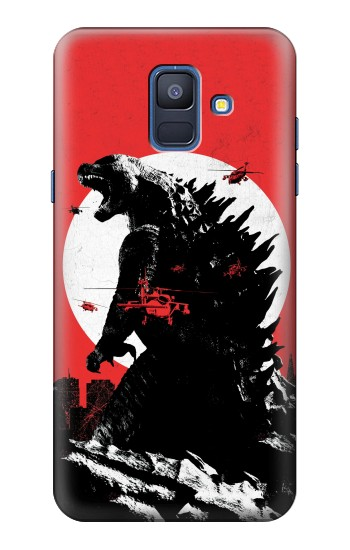 Printed Godzilla Japan Flag Samsung Galaxy A6 (2018) Case