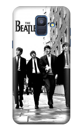 Printed The Beatles in London Samsung Galaxy A6 (2018) Case