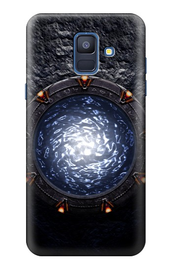 Printed The Stargate Orokin Portal Samsung Galaxy A6 (2018) Case
